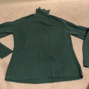 Old Navy Sweaters - Green turtleneck! Super soft and comfy!
